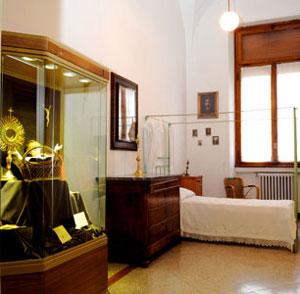 La stanza di madre Pierina [© Paolo Galosi]