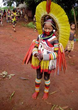 Indios kayapó